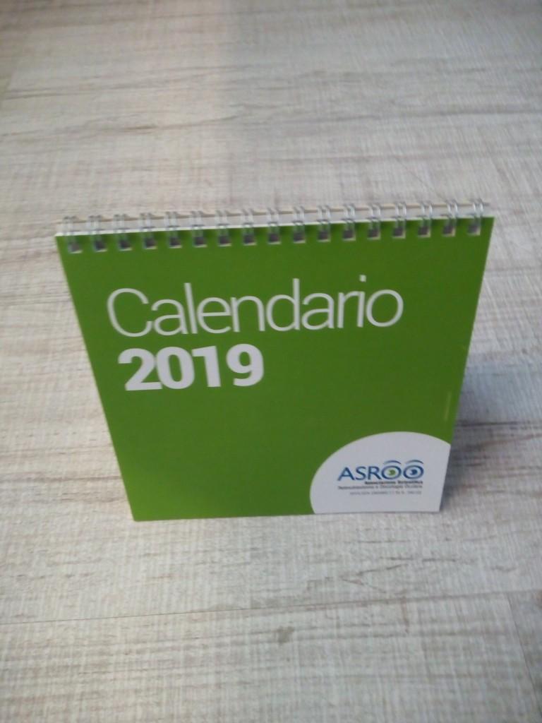 calendario asroo 2019