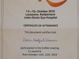 EURbG a Losanna - 11 e 12 ottobre 2019